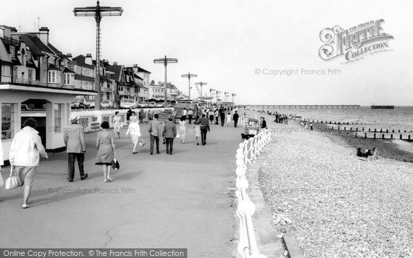 Bognor Regis, The Promenade c.1960