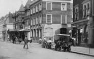 Bognor Regis, Vintage Car, High Street 1903