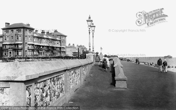 Bognor Regis, West Parade 1903