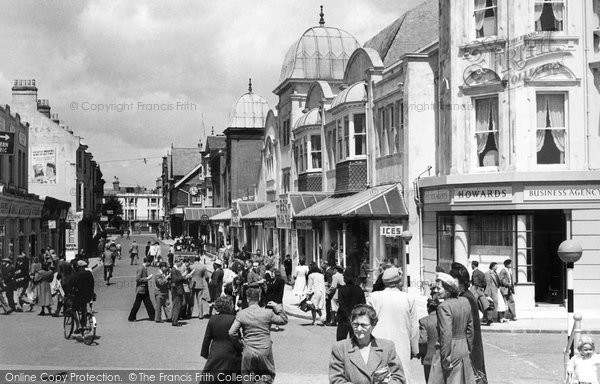 Bognor Regis, York Road 1955