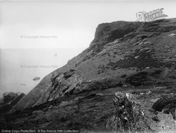 Photo of Bolberry, the Cliffs 1927