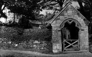 Bolingey, Old Stone Lych Gate St Piran's Church c.1955