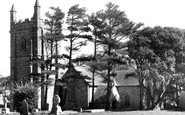 Bolingey, Peranzabloe St Piran's Church c.1955