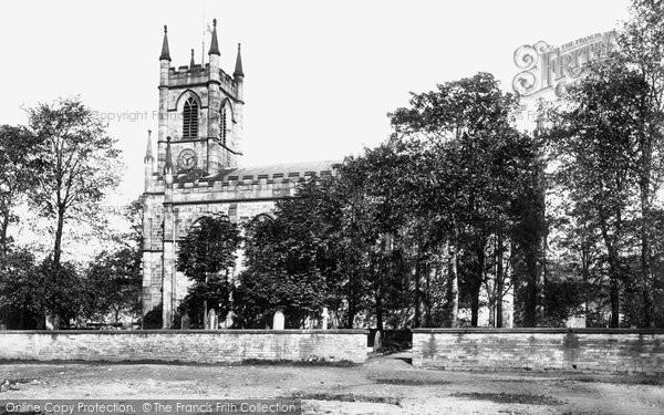 Bollington, Church Of St John The Baptist 1897