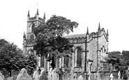 Bollington, Church Of St John The Baptist c.1955