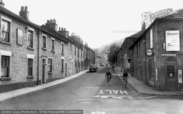 Bollington, Church Street c.1960