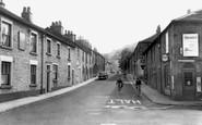 Bollington, Church Street c.1960