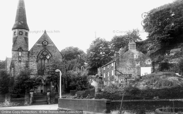Bollington, Congregational Church c.1960