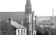 Bollington, Methodist Church c.1955