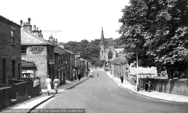 Bollington, Palmerston Street c.1955