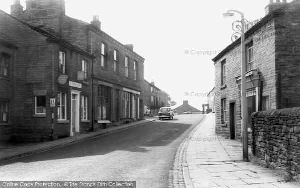 Bollington, Palmerston Street c.1960