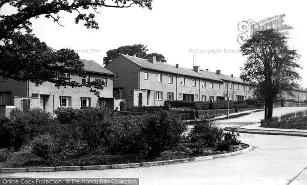 Bollington, Princess Drive c.1955