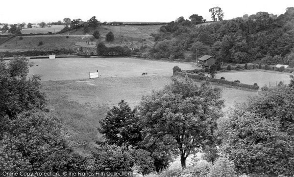 Bollington, Recreation Ground c.1955