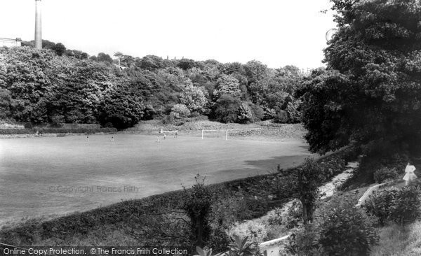 Bollington, Recreation Ground c.1960