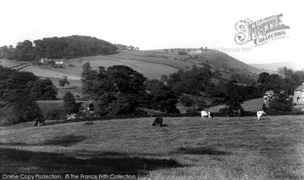 Bollington, View From Shrigley Road c.1955