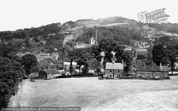 Bollington, View From White Nancy c.1955