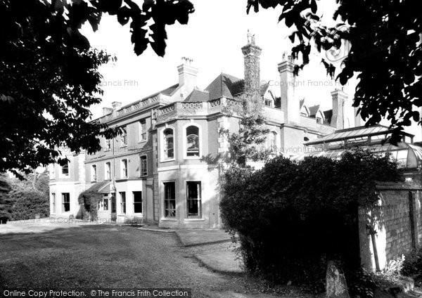 Bolney, Bolney Court c.1955