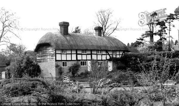 Bolney, Thatched Cottages c.1960