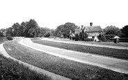 Bolney, The Brighton Road And Ye Olde Tudor House c.1955