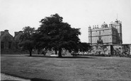 Bolsover, Castle, Outer Court c.1955