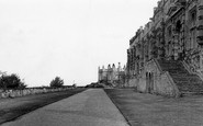 Bolsover, The Castle Terrace c.1955