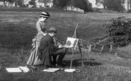 Bolton Abbey, An Artist And His Wife c.1886