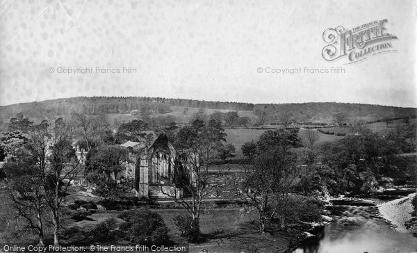 Bolton Abbey, And Lodge c.1874