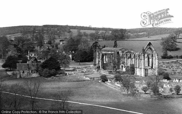 Bolton Abbey, Bolton Abbey c.1955