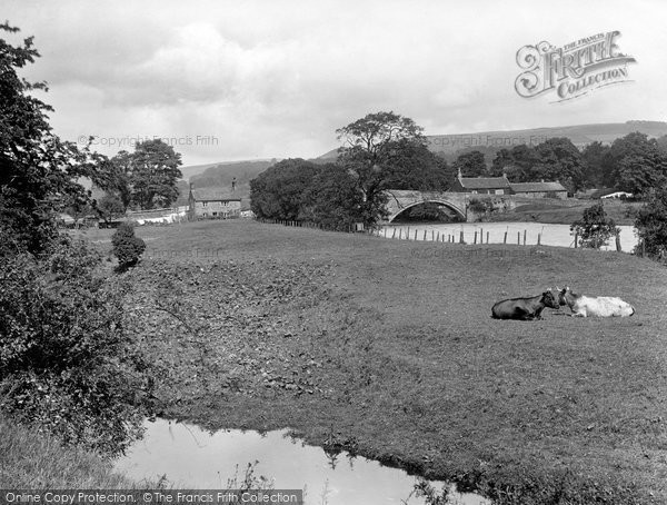 Bolton Abbey, Bolton Bridge 1923