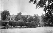 Bolton Abbey, Bolton Hall And Rectory c.1890