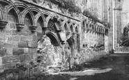 Bolton Abbey, Choir East c.1886