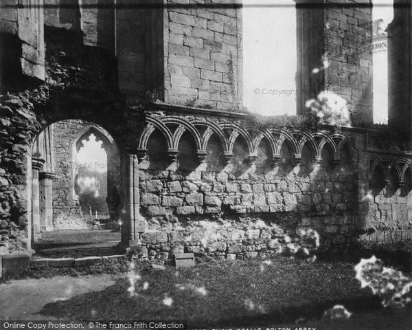 Bolton Abbey, Choir Stalls c.1900