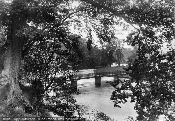 Bolton Abbey, Footbridge 1909