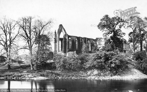 Bolton Abbey, From The River c.1874