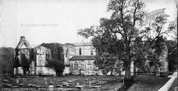 Bolton Abbey, North Side c.1871