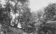 Bolton Abbey, On The Wharfe 1886