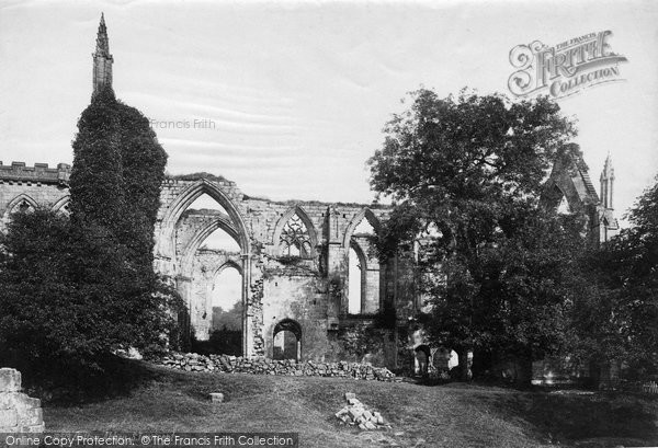 Bolton Abbey, South Transept c.1885