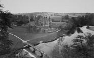 Bolton Abbey, The River Wharfe c.1955