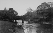 Bolton Abbey, The Toll Bridge, Cavendish Woods c.1955
