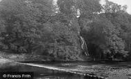 Bolton Abbey, Waterfall And Stepping Stones 1886