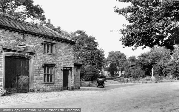 Photo of Bolton By Bowland, the Village c1955