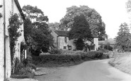 Bolton By Bowland, Yew Tree Cottages c.1955