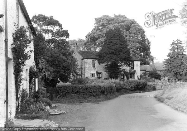 Photo of Bolton By Bowland, Yew Tree Cottages c1955