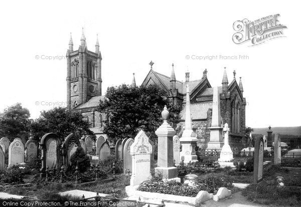 Bolton, Halliwell, St Peter's Church 1898