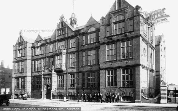 Bolton, Higher Grade Schools 1897