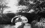 Bolton-Le-Sands, Bridge Over The Canal 1898