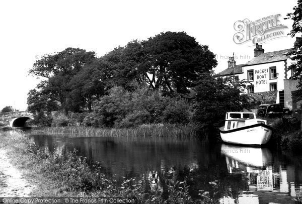 Bolton Le Sands, The Canal c.1960