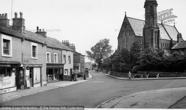 Bolton Le Sands, The Village c.1960