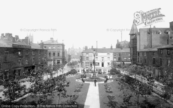 Bolton, Nelson Square 1893
