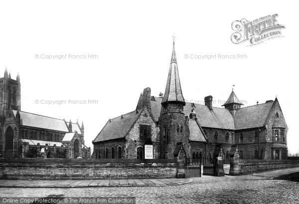 Bolton, Parish Church And Church Institute 1893